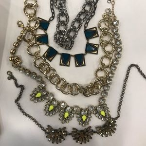 Lot of jcrew necklaces